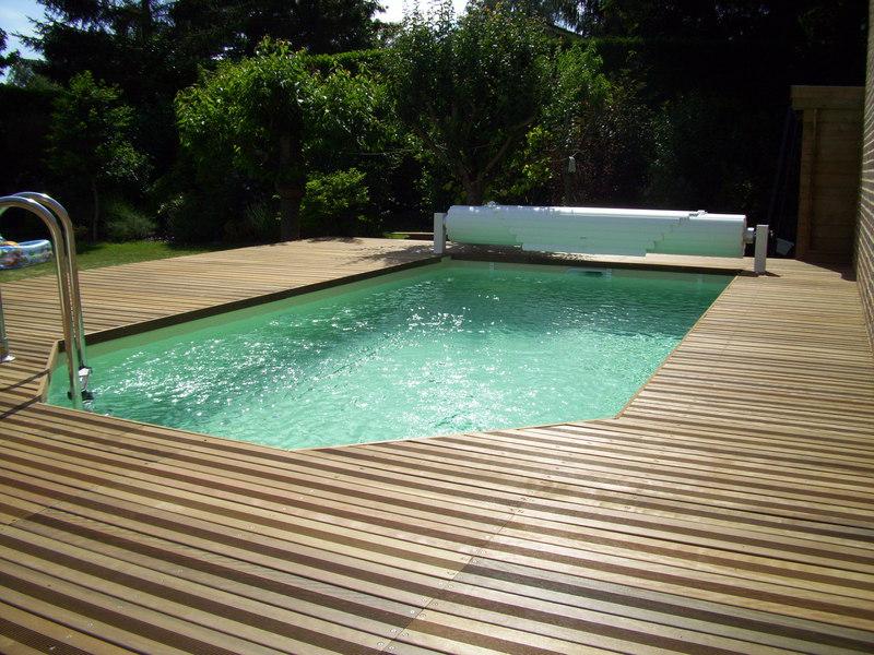 Piscine bois 8x4 fabulous prix duune piscine en bois with for Budget piscine bois