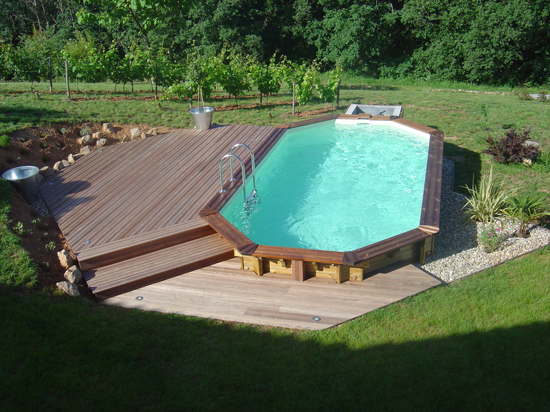 Nos piscines bois for Modele de piscine